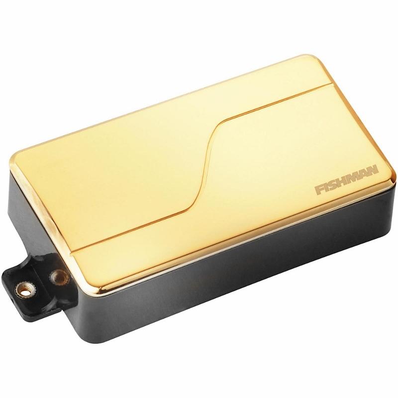 【レビューを書いて次回送料無料クーポンGET】Fishman Fluence Modern Humbucker Alnico Neck Gold [並行輸入品][直輸入品]【フィッシュマン】【PRF-MHB-AG1】【新品】