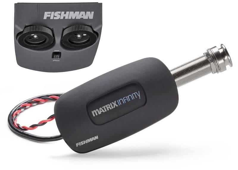 【レビューを書いて次回送料無料クーポンGET】Fishman Matrix Infinity VT Acoustic Pickup - Wide Saddle [並行輸入品][直輸入品] 【フィッシュマン】【PRO-MAT-NFV】【マトリックス インフィニティ】【新品】【ギター用ピックアップ】