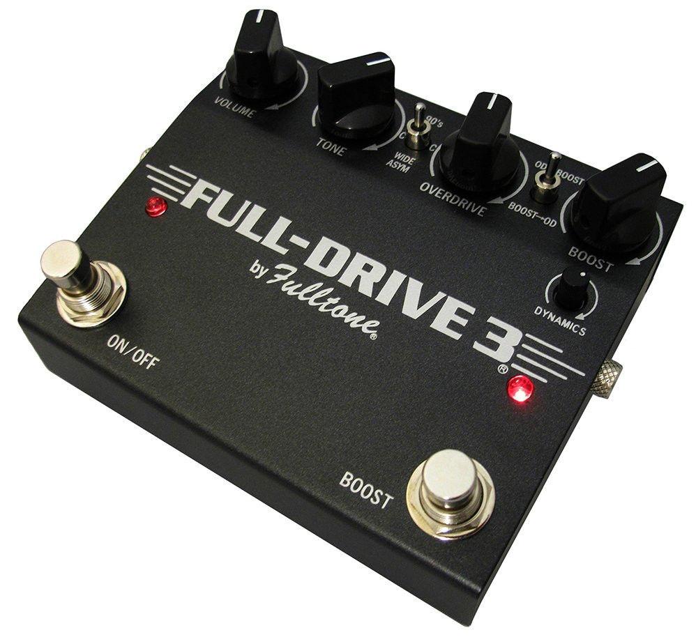 【レビューを書いて次回送料無料クーポンGET】Fulltone FULL-DRIVE 3 エフェクター [並行輸入品][直輸入品]【Fulldrive】【フルトーン】【フルドライブ】【オーバードライブ】【新品】