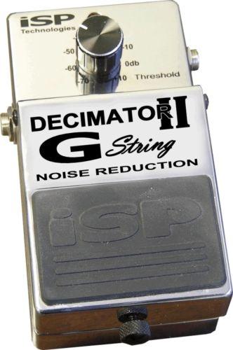 【レビューを書いて次回送料無料クーポンGET】ISP Technologies Decimator G String Version II エフェクター [直輸入品][並行輸入品]【Noise Reduction】【ノイズリダクション】【新品】