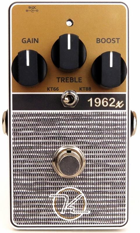 【レビューを書いて次回送料無料クーポンGET】Keeley 1962X 2-Mode Limited British Overdrive エフェクター [並行輸入品][直輸入品]【キーリー】【オーバードライブ】【新品】