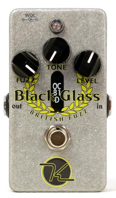 【レビューを書いて次回送料無料クーポンGET】Keeley Black Glass British エフェクター [並行輸入品][直輸入品]【キーリー】【ファズ】【新品】