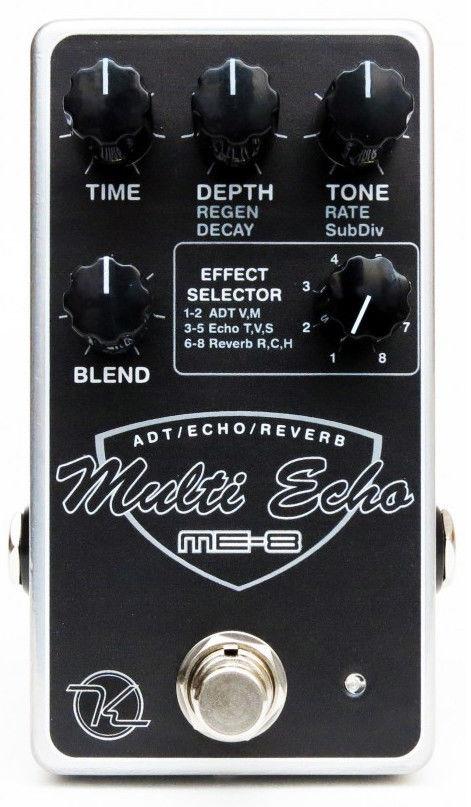 【レビューを書いて次回送料無料クーポンGET】Keeley ME-8 Multi Echo エフェクター [並行輸入品][直輸入品]【キーリー】【ディレイ】【新品】
