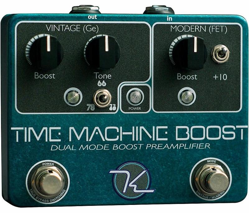 【レビューを書いて次回送料無料クーポンGET】Keeley Time Machine Boost-New Version- エフェクター [並行輸入品][直輸入品]【キーリー】【ブースター】【新品】