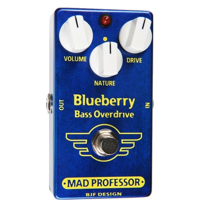 【レビューを書いて次回送料無料クーポンGET】Mad Professor New Blueberry Bass Overdrive エフェクター [並行輸入品][直輸入品]【マッドプロフェッサー】【ベース用オーバードライブ】【新品】