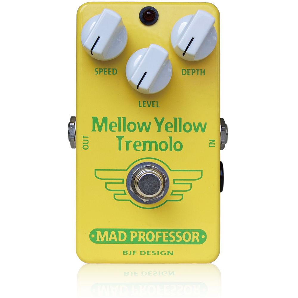 【レビューを書いて次回送料無料クーポンGET】Mad Professor Mellow Yellow Tremolo Hand Wired Made in Finland エフェクター [並行輸入品][直輸入品]【マッドプロフェッサー】【トレモロ】【新品】