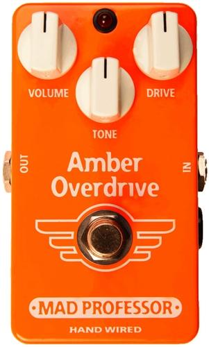 【レビューを書いて次回送料無料クーポンGET】Mad Professor Amber Overdrive Hand Wired Made in Finland エフェクター [並行輸入品][直輸入品]【マッド・プロフェッサー】【オーバードライブ】【新品】