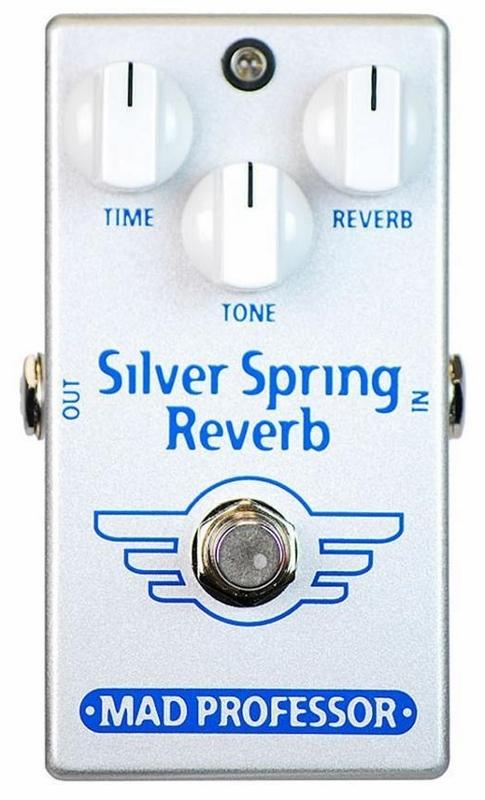 【レビューを書いて次回送料無料クーポンGET】Mad Professor New Silver Spring Reverb エフェクター [並行輸入品][直輸入品]【マッドプロフェッサー】【リバーブ】【新品】