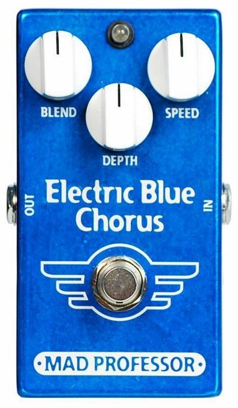 【レビューを書いて次回送料無料クーポンGET】Mad Professor New Electric Blue Chorus エフェクター [並行輸入品][直輸入品]【マッドプロフェッサー】【コーラス】【新品】
