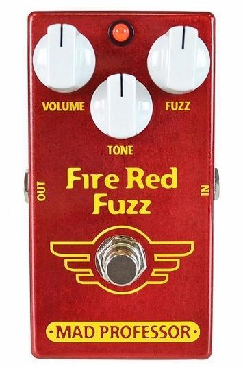 【レビューを書いて次回送料無料クーポンGET】Mad Professor New Fire Red Fuzz エフェクター [並行輸入品][直輸入品]【マッドプロフェッサー】【ファズ】【新品】