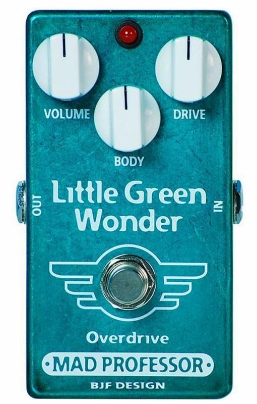 【レビューを書いて次回送料無料クーポンGET】Mad Professor New Little Green Wonder エフェクター [並行輸入品][直輸入品]【マッド・プロフェッサー】【オーバードライブ】【新品】