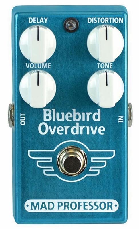 【レビューを書いて次回送料無料クーポンGET】Mad Professor New Bluebird Overdrive Delay エフェクター [並行輸入品][直輸入品]【マッドプロフェッサー】【ディレイ】【新品】