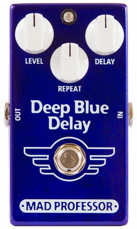 【レビューを書いて次回送料無料クーポンGET】Mad Professor New Deep Blue Delay エフェクター [並行輸入品][直輸入品]【マッドプロフェッサー】【ディレイ】【新品】