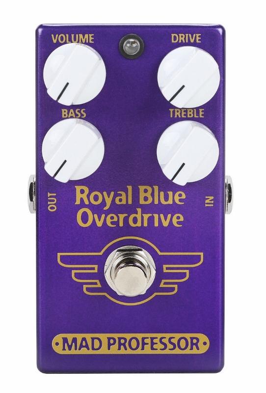 【レビューを書いて次回送料無料クーポンGET】Mad Professor New Royal Blue Overdrive エフェクター [並行輸入品][直輸入品]【マッド・プロフェッサー】【オーバードライブ】【新品】