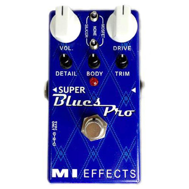 【レビューを書いて次回送料無料クーポンGET】MI Audio Super Blues Pro エフェクター [並行輸入品][直輸入品] 【最新版 】【オーバードライブ】【新品】