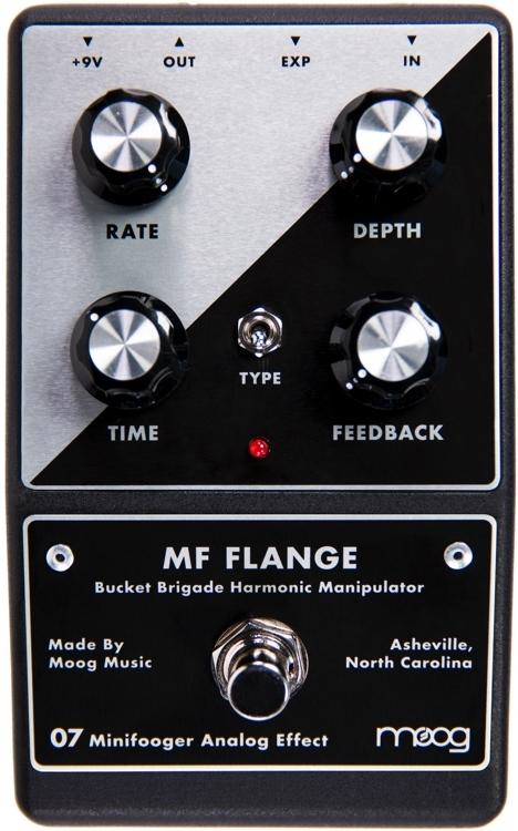【レビューを書いて次回送料無料クーポンGET】Moog Minifooger MF Flange エフェクター [並行輸入品][直輸入品]【モーガー・フーガー】【新品】