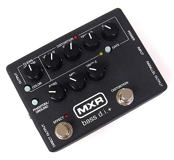 【レビューを書いて次回送料無料クーポンGET】MXR Bass D.I.+ M-80 エフェクター [直輸入品]【ディストーション】【オクターバー】【DI】【M 80】【M80】【新品】