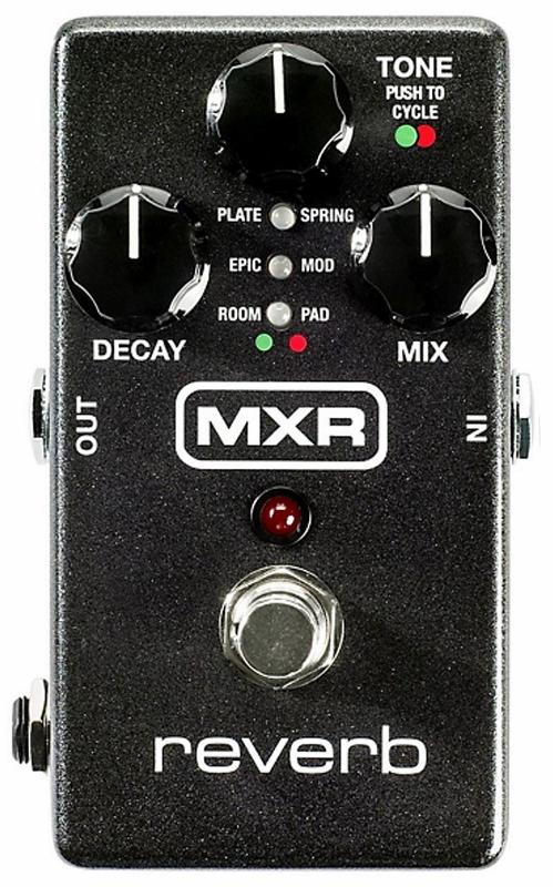【レビューを書いて次回送料無料クーポンGET】MXR M-300 REVERB エフェクター [直輸入品]【M300】【新品】