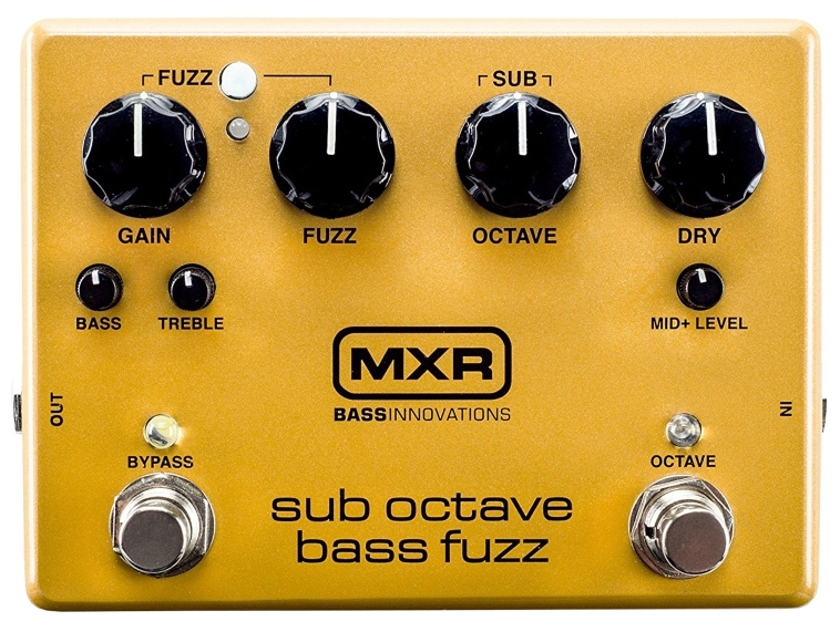 【レビューを書いて次回送料無料クーポンGET】MXR M287 Sub Octave Bass Fuzz エフェクター [直輸入品]【新品】