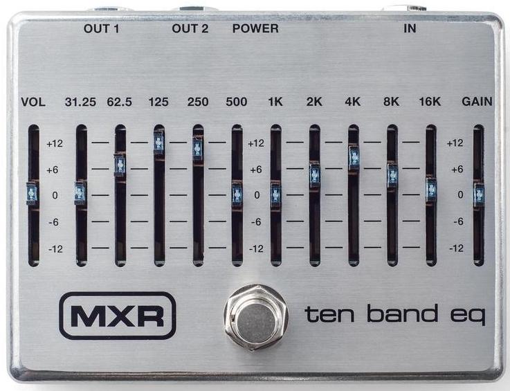 Graphic 【レビューを書いて次回送料無料クーポンGET】MXR [直輸入品]【新品】 エフェクター EQ Band 10 M108S