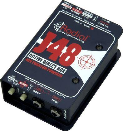 【レビューを書いて次回送料無料クーポンGET】Radial J48 Direct BOX [並行輸入品][直輸入品]【ラディアル】【ダイレクトボックス】【DI】【新品】