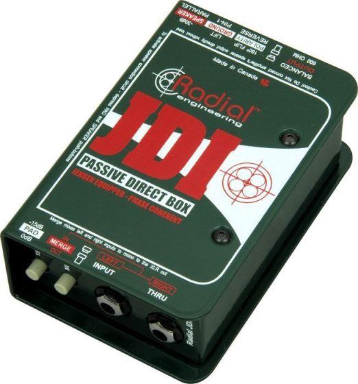 【レビューを書いて次回送料無料クーポンGET】Radial JDI MK3 Direct Box [並行輸入品][直輸入品]【ラディアル】【ダイレクトボックス】【DI】【新品】