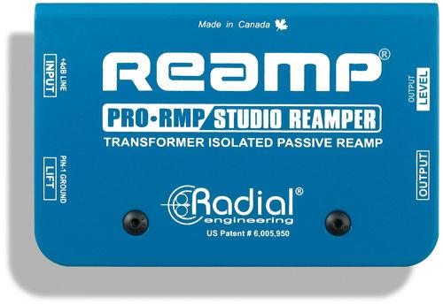 【レビューを書いて次回送料無料クーポンGET】Radial PRO RMP [並行輸入品][直輸入品]【PRO-RMP】【ラジアル】【ラディアル】【リアンピング・ボックス】【P2】【新品】