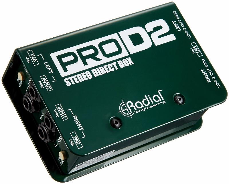 【レビューを書いて次回送料無料クーポンGET】Radial PRO D2 [並行輸入品][直輸入品]【ラディアル】【ダイレクトボックス】【DI】【新品】
