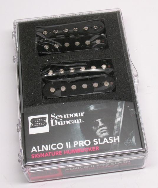 【レビューを書いて次回送料無料クーポンGET】Seymour Duncan Alnico II Pro SLASH APH-2 n&b Black [並行輸入品][直輸入品]【セイモアダンカン】 【ギター用ピックアップ】【新品】