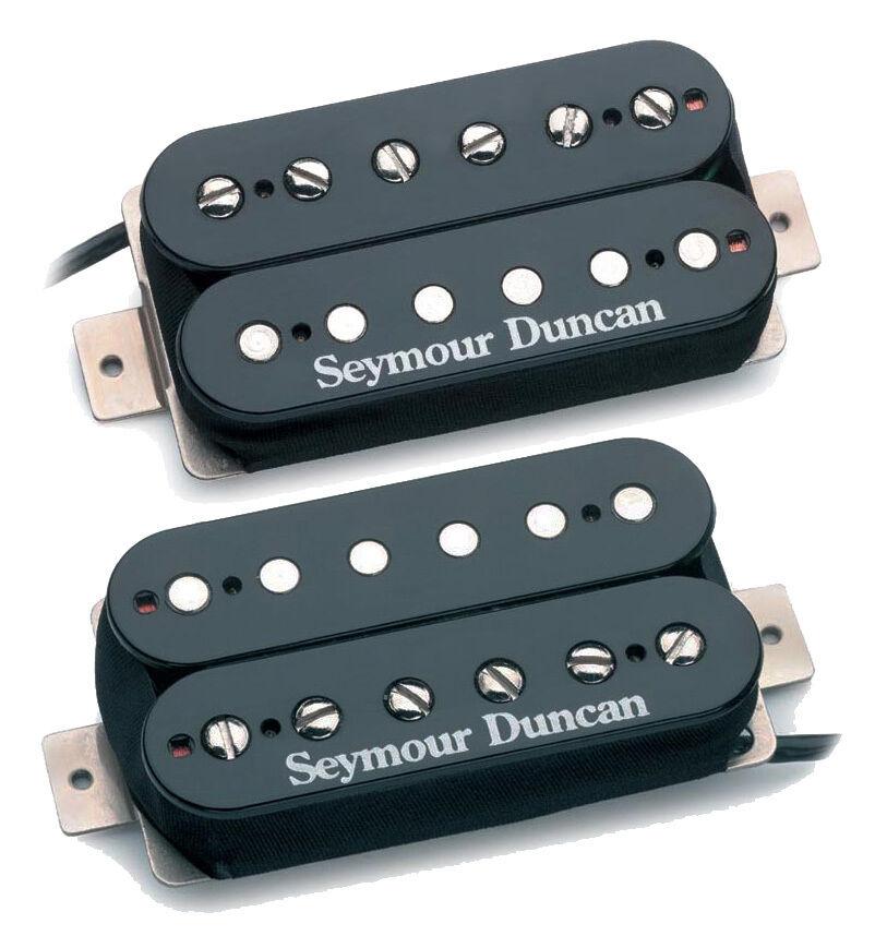 【レビューを書いて次回送料無料クーポンGET】Seymour Duncan SH-18 Whole Lotta Humbucker Pickup - Black Set [並行輸入品][直輸入品]【セイモアダンカン】【新品】【ギター用ピックアップ】