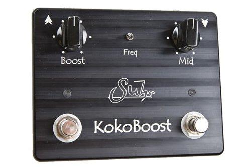 【レビューを書いて次回送料無料クーポンGET】Suhr Koko Boost Effects Pedal エフェクター ココブースト [直輸入品][並行輸入品]【ブースター】【新品】
