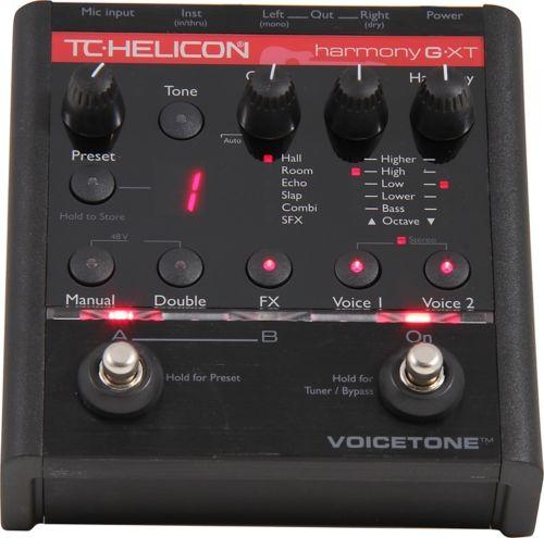 【レビューを書いて次回送料無料クーポンGET】TC-Helicon VoiceTone Harmony-G XT エフェクター [直輸入品][並行輸入品]【TC Helicon】【Harmony G-XT】【新品】