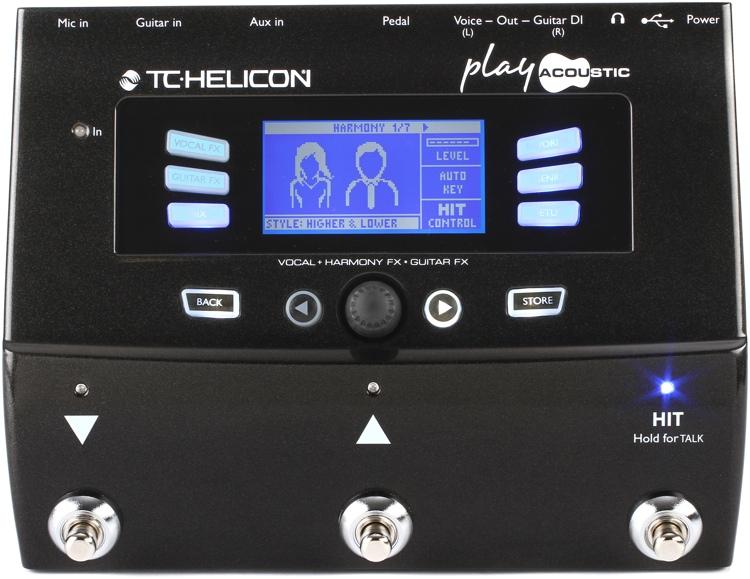 【レビューを書いて次回送料無料クーポンGET】TC-Helicon VoiceLive Play Acoustic エフェクター [直輸入品][並行輸入品]【ボーカル・エフェクター】【TC Helicon】【新品】