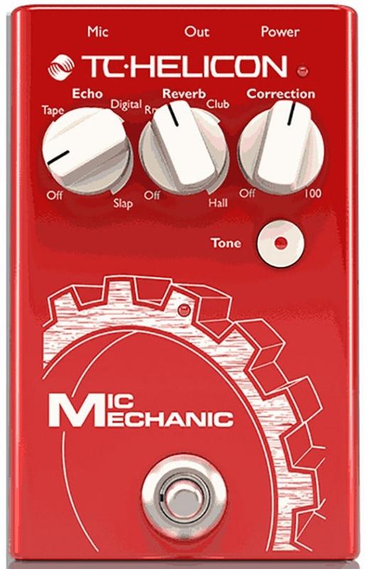【レビューを書いて次回送料無料クーポンGET】TC-HELICON Mic Mechanic 2 エフェクター [直輸入品][並行輸入品]【TC Helicon】【ボーカル用エフェクター】【新品】