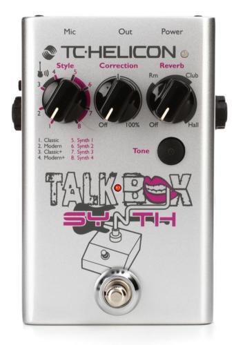 【レビューを書いて次回送料無料クーポンGET】TC-Helicon Talkbox Synth エフェクター [直輸入品][並行輸入品]【TC Helicon】【ボーカルエフェクター】【新品】