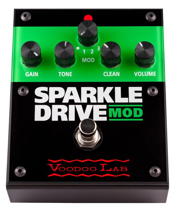 【レビューを書いて次回送料無料クーポンGET】Voodoo Lab Sparkle Drive Mod エフェクター [直輸入品][並行輸入品]【ブゥードゥーラボ】【新品】