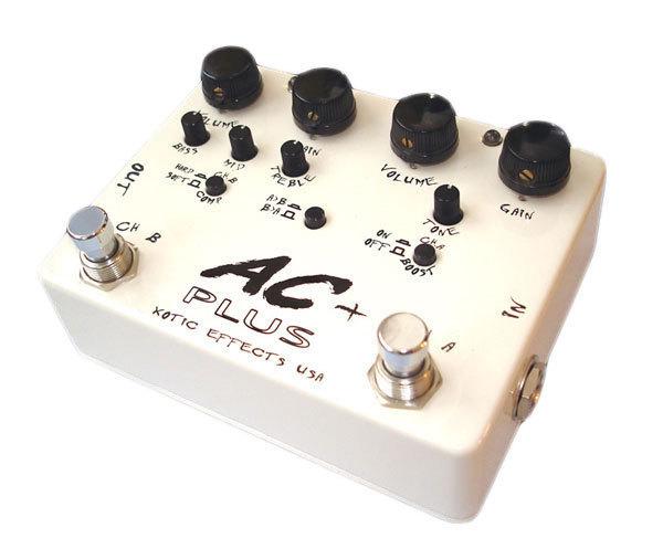 【レビューを書いて次回送料無料クーポンGET】Xotic AC PLUS エフェクター [直輸入品][並行輸入品]【エキゾチック】【オーバードライブ】【AC+】【新品】