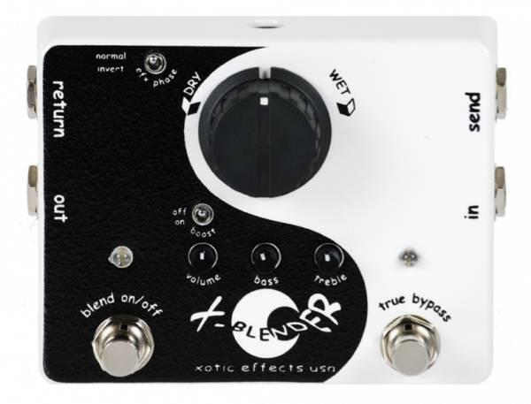 【レビューを書いて次回送料無料クーポンGET】Xotic X-Blender エフェクター [直輸入品][並行輸入品] 【エキゾチック】【ミキサー】【新品】