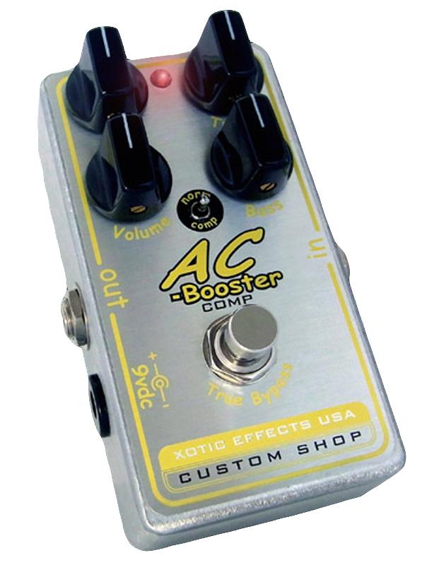【レビューを書いて次回送料無料クーポンGET】Xotic AC Booster COMP エフェクター [直輸入品][並行輸入品]【エキゾチック】【コンプレッサー】【新品】