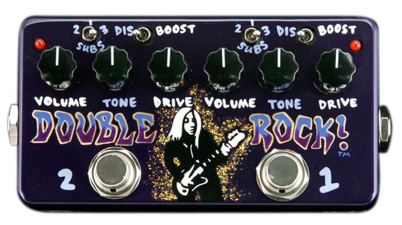 【レビューを書いて次回送料無料クーポンGET】Z.Vex Double Rock J Mascis Dinosaur Jr エフェクター [直輸入品][並行輸入品]【ZVex】【ブースター】【オーバードライブ】【ディストーション】【ジーベックス】【新品】