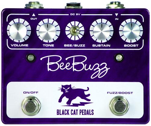 【レビューを書いて次回送料無料クーポンGET】BLACK CAT Bee Buzz Fuzz Pedal Grape エフェクター [並行輸入品][直輸入品] 【ブラックキャット】【ファズ】【新品】