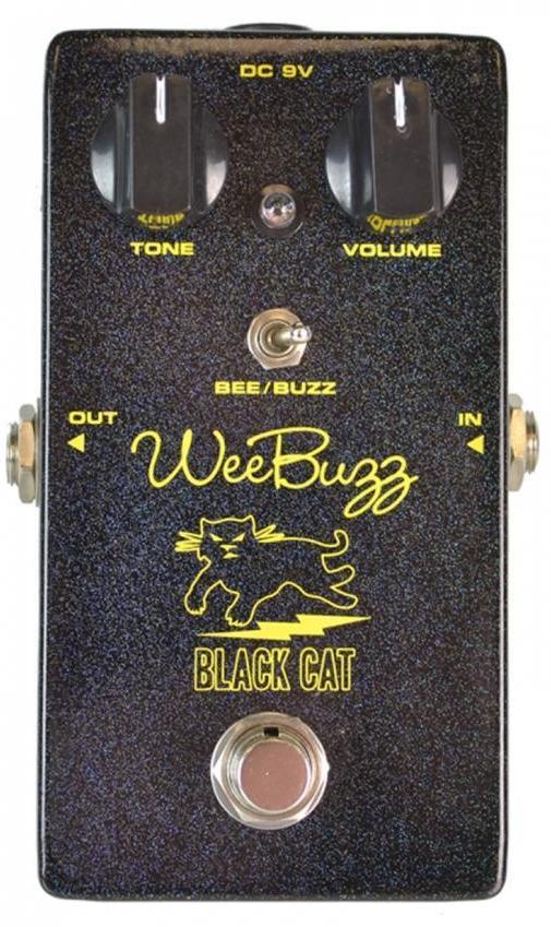 【レビューを書いて次回送料無料クーポンGET】BLACK CAT Wee Buzz Fuzz Pedal エフェクター [並行輸入品][直輸入品] 【ブラックキャット】【ファズ】【新品】