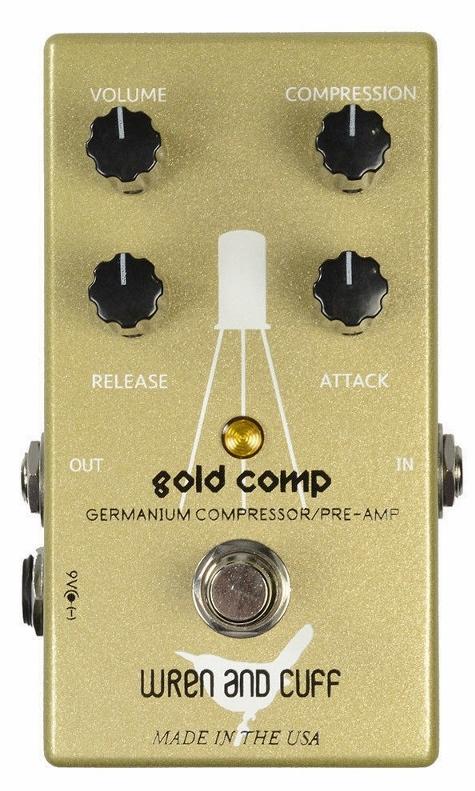 【レビューを書いて次回送料無料クーポンGET】Wren and Cuff Creations Gold Comp エフェクター [直輸入品][並行輸入品] 【レナンドカフクリエイションズ】【コンプレッサー】【新品】