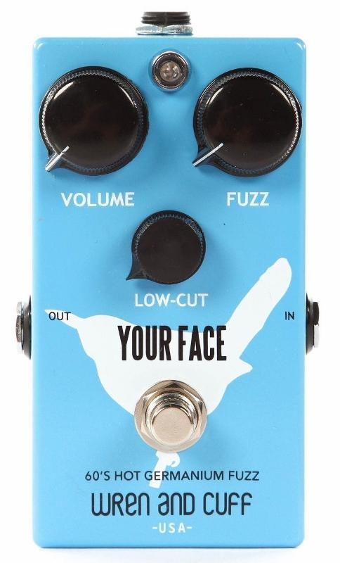 【レビューを書いて次回送料無料クーポンGET】Wren and Cuff Creations Your Face 60's Hot Germanium Fuzz エフェクター [直輸入品][並行輸入品] 【レナンドカフ】【ファズ】【新品】