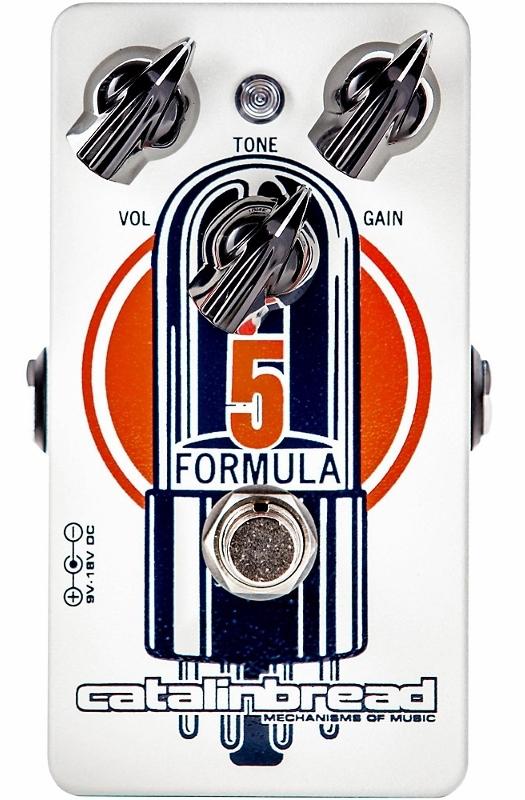 【レビューを書いて次回送料無料クーポンGET】Catalinbread Formula NO. 5 エフェクター【1年保証】【カタリンブレッド】【新品】