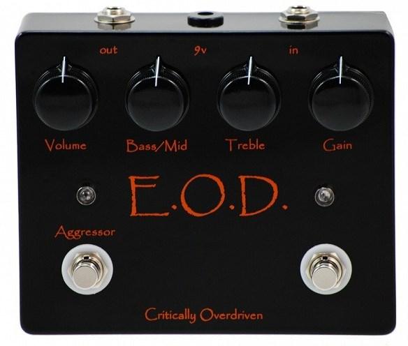 【レビューを書いて次回送料無料クーポンGET】Critically Overdriven E.O.D. Overdrive エフェクター【メーカー1年保証】【オーバードライブ】【EOD】【新品】