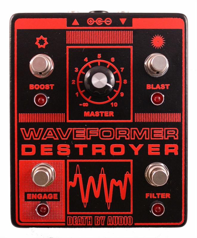 【レビューを書いて次回送料無料クーポンGET】Death By Audio Waveformer Destroyer エフェクター【1年保証】【デスバイオーディオ】【新品】