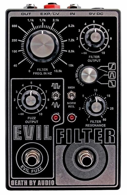 【レビューを書いて次回送料無料クーポンGET】Death by Audio Evil Filter エフェクター【メーカー1年保証】【デスバイオーディオ】【イービルフィルター】【新品】
