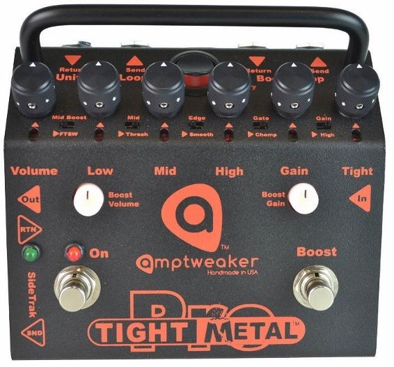 【レビューを書いて次回送料無料クーポンGET】Amptweaker TightMetal Pro エフェクター [直輸入品][並行輸入品]【アンプトゥイーカー】【タイトメタル】【ディストーション】【新品】