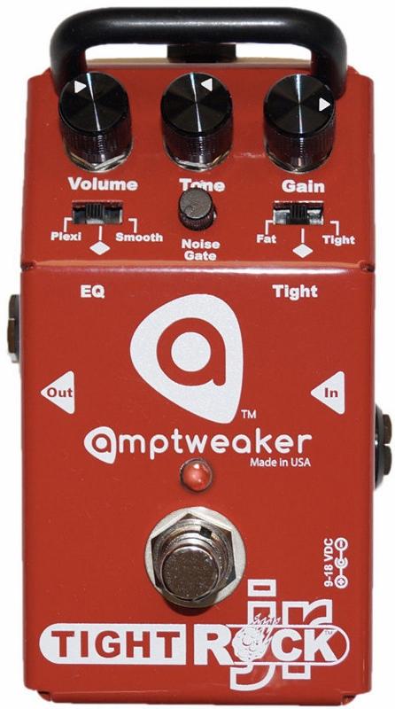 【レビューを書いて次回送料無料クーポンGET】Amptweaker TightRock JR エフェクター [直輸入品][並行輸入品]【アンプトゥイーカー】【タイトロック】【ディストーション】【Tight Rock】【新品】